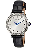 Seiko Analog White Dial Women's Watch - SFQ811P2