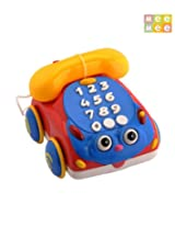 Mee Mee Exciting Roll Phone, Blue/Yellow