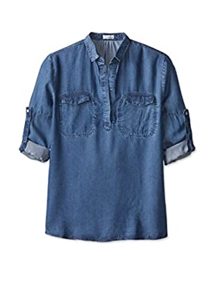4our Dreamers Women's Popover Top with Pockets