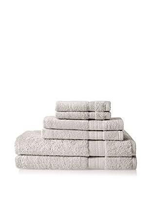 Espalma Luxe Palace Luxury 6-Piece Towel Set, Silver