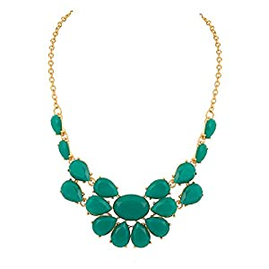 Voylla Statement With Floral Motif Necklace for Women