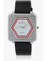 7001 Black/White Analog Watch Baywatch