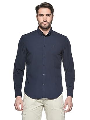 Nautica Camisa Hombre (Azul Marino)