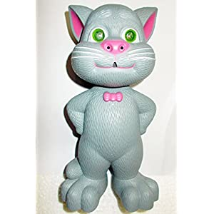 Talking Tom Interactive Toy Talks Back Mimicry Cat Copy Voice Pet Gift