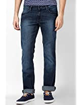 Difused Indigo Regular Fit Jeans