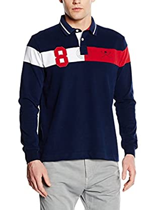 POLO CLUB Poloshirt Player Eight Academy