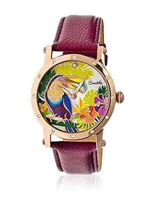 Bertha Uhr mit Japanischem Quarzuhrwerk Gisele violett 41 mm