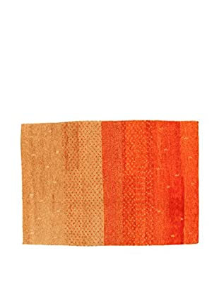 Design Community By Loomier Teppich Gabbeh orange/beige 200 x 140 cm