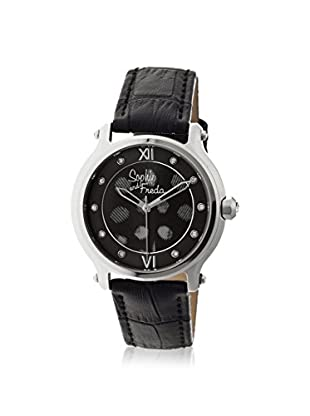Sophie and Freda Women's SAFSF2606 Siena Black/Multicolor Leather Watch
