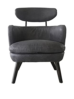 Melange Home Jetson Armchair, Mercury Grey