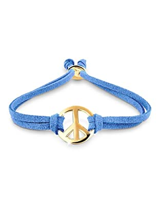 Elli Armband Peace blau
