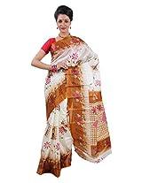 Parichay Women's Silk Saree(Mustard)