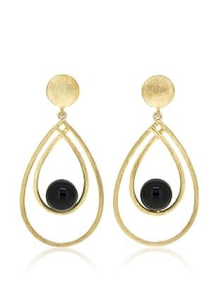 Melin Paris Pendientes Black Onyx