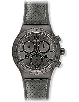 Swatch Chronograph Grey Dial Men's Watch - YVM400