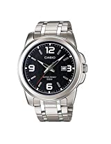 Casio Enticer Analog Black Dial Men's Watch - MTP-1314D-1AVDF (A550)