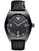 Emporio Armani Analog Black Dial Men's Watch - AR0368