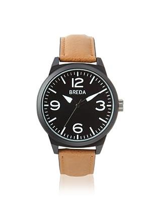 Breda Men's 8144 Stephen Interchangeable Black Alloy Watch
