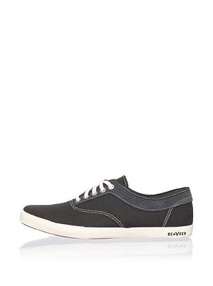 SeaVees Men's Volunteer Plimsoll Sneaker (Asphalt)