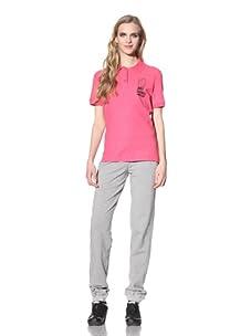 Just Cavalli Women's Anniversary Polo Shirt (Fuchsia)