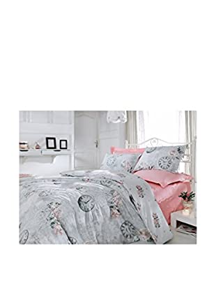 Cotton Box Rose & Lace Duvet Set