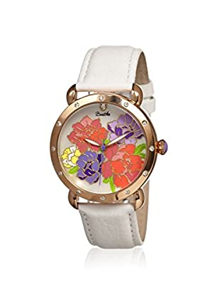 Bertha Women's BR3603 Angela White/Multicolor Leather Watch