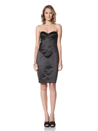 Paul & Joe Women's Betyboop Strapless Fitted Dress (Black)