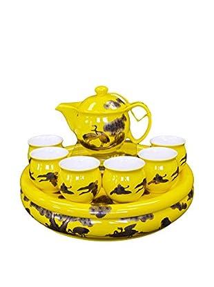 Auratic Pu Er & Kong Fu Tea Set, Yellow