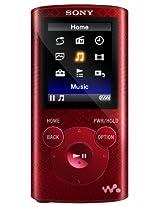 Sony NWZ-E383 4 GB Walkman MP3 Video Player (Red)
