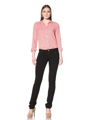 Earnest Sewn Women's Harlan Cigarette Leg Jean (Jet)