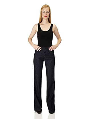 7 for all Mankind Jeans Farrah Empire Tower II Wide Leg (Denim)