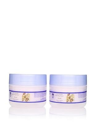 Dead Sea Spa Care Shea Body Butter, Almond 2 Pack, 8 oz each