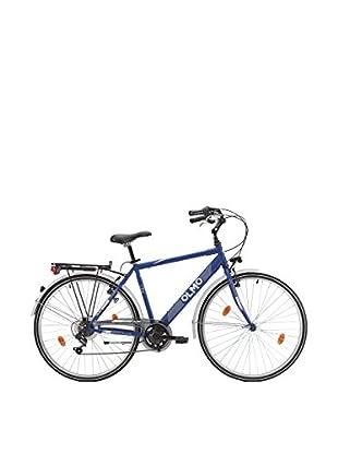 Olmo Bicicleta City 7V Hombre Azul