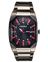 Police Analog Black Dial Men's Watch - PL13755JSU/02M