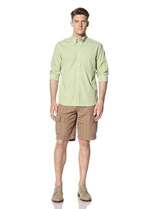 Cutter and Buck Men's Pacific Rim Check Shirt (Kelp)