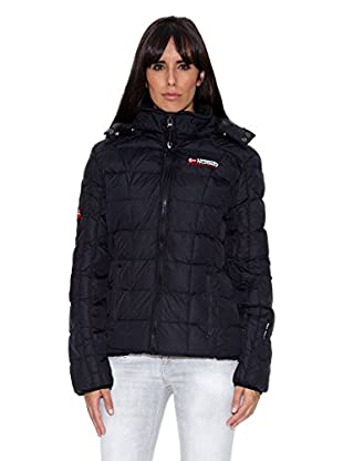 Geographical Norway Abrigo Baghera Lady 004 (Negro)
