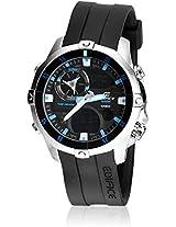 Edifice Ema-100-1Avdf-Ex103 Black Analog & Digital Watch Casio