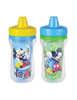 The First Years Mickey Mouse 2 pack Insulated Sippy Cup