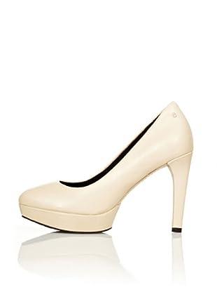 Rockport Zapatos de Salón Plataforma Janae (Crema)