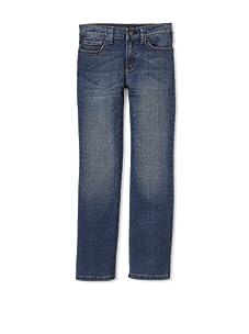 Joe's Jeans Boy's Rebel Relaxed Fit Jean (Whiskered Denim)