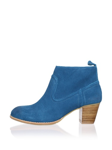 DV by Dolce Vita Women's Jamison Bootie (Teal Suede)