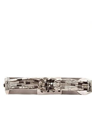 Custo Gürtel Long T (Weiß/Grau)
