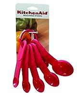 KitchenAid Measuring Spoons - Set of 5 - Dark Pink
