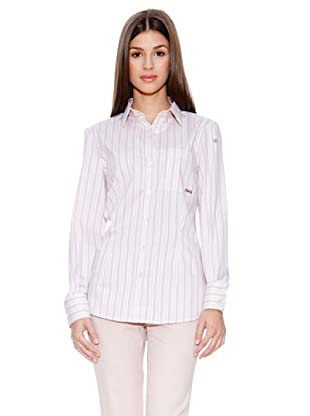 D&G Bluse Andrea (Rosa/Weiß)