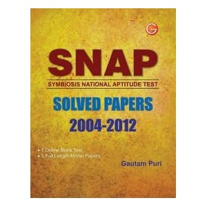 SNAP Solved Papers 2004-2012 (Old Edition) (OLD EDITION) (OLD EDITION)