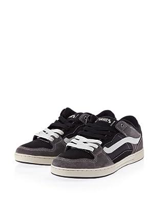 Vans Baxter VL3MBKA Herren Klassische Sneakers (Grau/(Ballistic) charcoal/black)