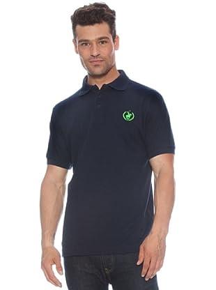 Polo Club Polo manga corta Logo Small (Azul Marino / Verde)