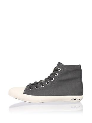 SeaVees Women's Army Issue High-Top Sneaker (Steel Grey)