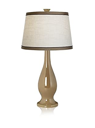 Pacific Coast Lighting Camel Ceramic Vase Lamp (Linen)
