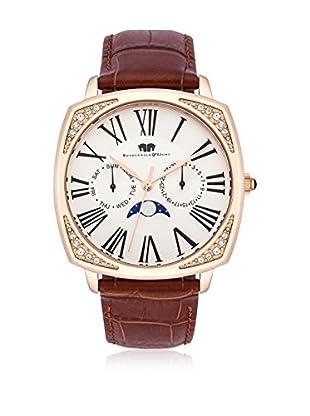 Rhodenwald & Söhne Uhr mit Japanischem Quarzuhrwerk 10010118 braun 38  mm