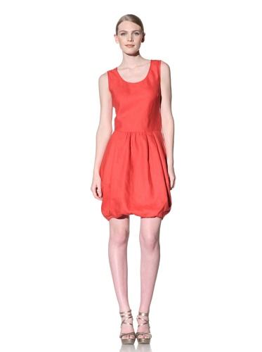 Lafayette 148 New York Women's Bubble Hem Dress (Passion)